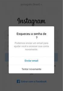 como recuperar a senha do instagram 2