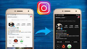 como colocar o instagram preto android