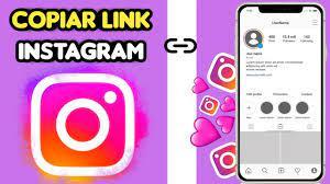 como copiar o link do meu instagram