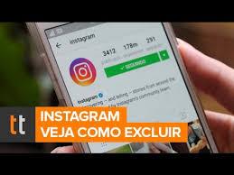 como excluir definitivamente um perfil do Instagram