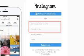 como fazer um Instagram novo